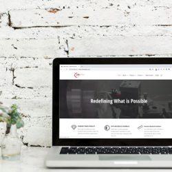 CMM Optic website redesign