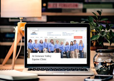 Rebranding for Genesee Valley Equine Clinic