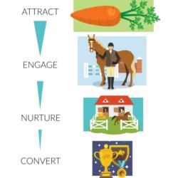 equestrian marketing funnel