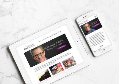 HealthLynk Coaching Website and Brand Development